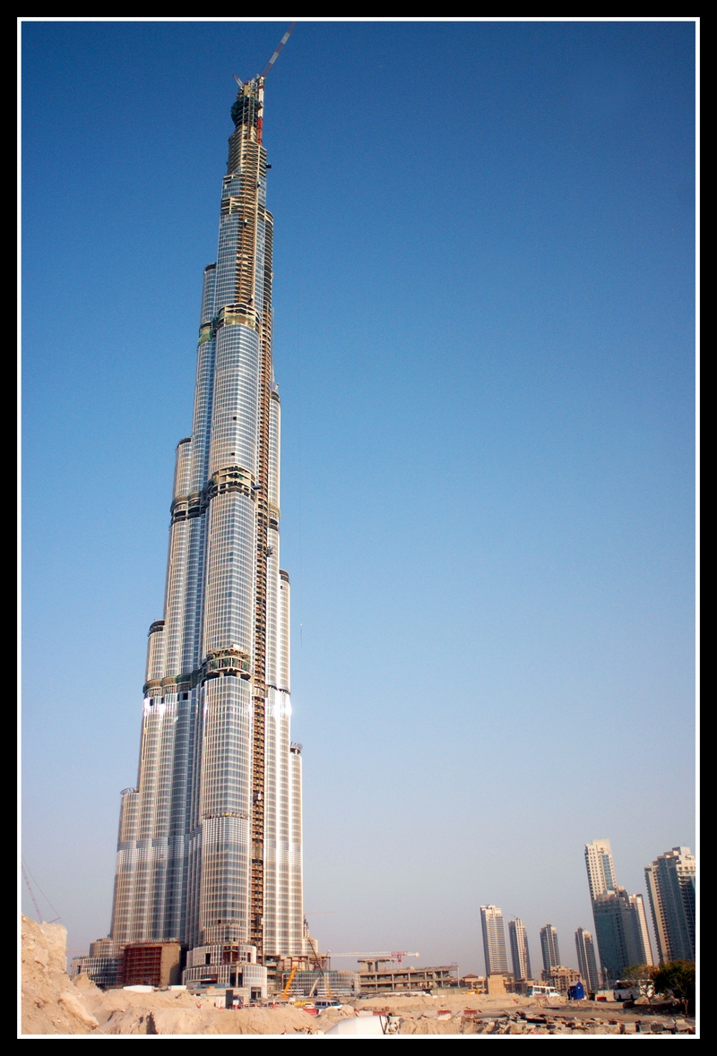 tallest building in the world, burj dubai