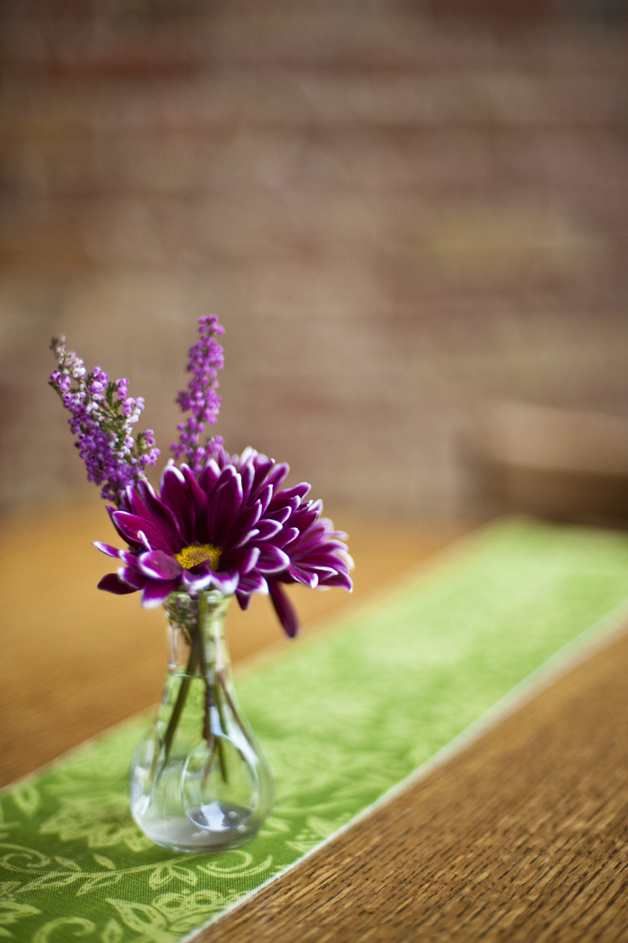 flower with table